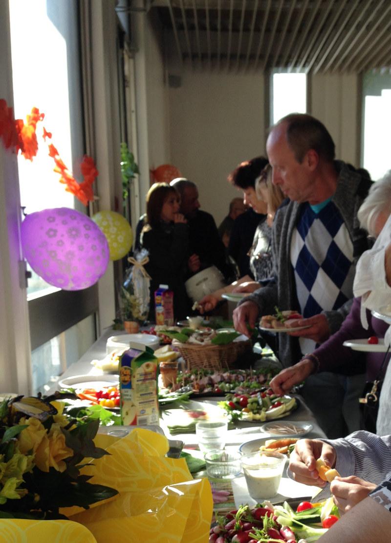 buffet inauguration jardins partagés Montrouge