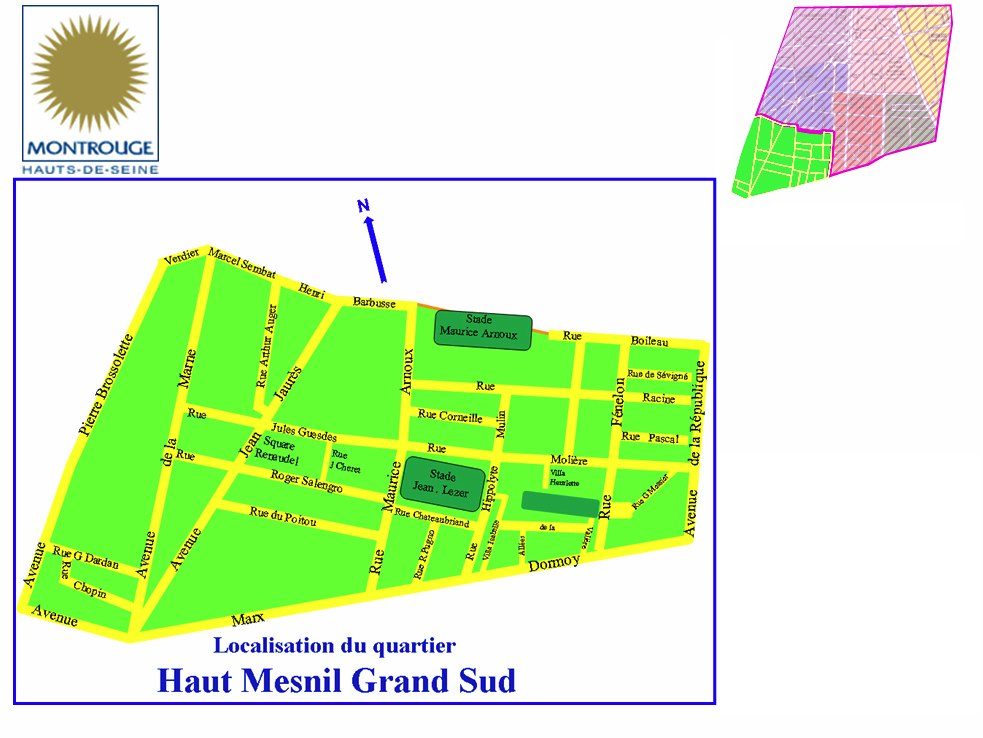 Quartier de Montrouge Haut-Mesnil Grand Sud - HMGS