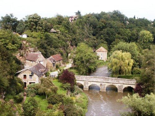 Promenade dans l'Orne - Saint Céneri le Gerei