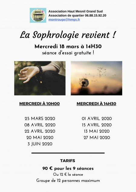 Sophrologie 2020